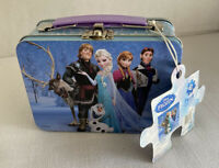 Frozen Tin Box Plus Puzzle 63 Piece Puzzle New With Tag