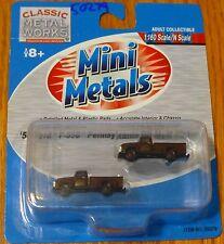 Classic Metal Works #50279 Mini Metals 1954 Ford F-350 Pickup Truck -- Pennsylva