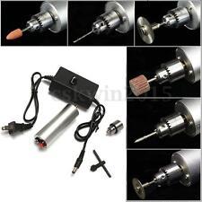 Mini Electric Hand Drill Handdrill DC Motor w/ JT0 Chuck Power Supply 6-24V DIY