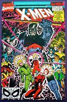 X-MEN ANNUAL #14 NM+ 9.6 PRESS & CGC IT 1st FULL & TRUE APPEARANCE GAMBIT 1990