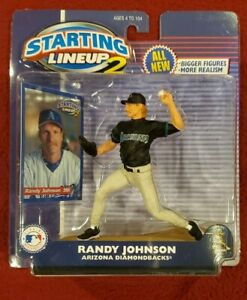 2001 STARTING LINEUP 2 - MLB - RANDY JOHNSON - ARIZONA DIAMONDBACKS