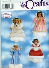 "Sewing PATTERN 18"" Doll Clothes Angel Costumes American Girl Gotz  Uncut"