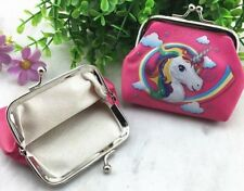 UNICORN PURSE COIN WALLET BIRTHDAY PARTY LOLLY LOOT BAG FANTASY HORSE RAINBOW
