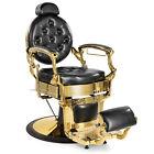 Metal Vintage Heavy Duty Barber Chair Salon Beauty Purpose Equipment 2 Colors