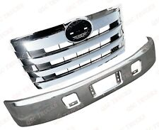 QSC Chrome Steel Replacement Bumper Chrome Grille for 2011+ Hino 238 268 338