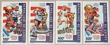 GUINEA 1992 1367-70 A 1183-86 Soccer World Cup 1994 USA Fußball WM Football MNH