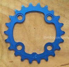 Aerozine 22T Chainring Chain Ring MTB Bicycle Bike 22 Teeth 64mm BCD Blue