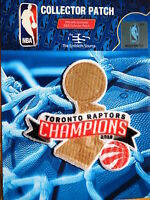 Licensed Toronto Raptors 2019 NBA Trophy Championship Iron or Sew On Patch