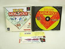 PS1 DX MONOPOLY Deluxe with SPINE Card * Playstation Import Japan Game p1