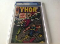 THOR 149 CGC 9.2 OW TO WHITE PAGES OLD BLUE LABEL INHUMANS BACK UP STORY 1968