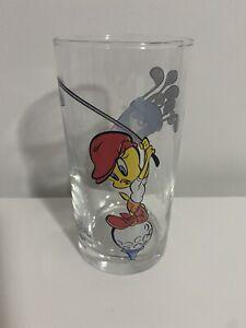 IXL Vintage Tweety Golfing Jam Glass Warner Bros Looney Tunes - Others Avail