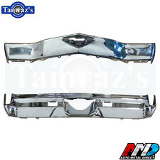 1972 Monte Carlo Front & Rear Bumper Triple Chrome Plated - New AMD Tooling