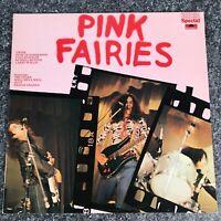 LP VINYL COMPILATION ALBUM PINK FAIRIES UK IST PRESS 2384071 POLYDOR 1975 EX/NM