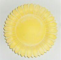Deko Teller Dekoteller Schale Tablett gelb Sonne Blume Sommer 27 cm