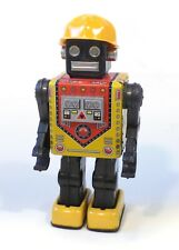 1960s Tin Japan Space BUSY CART ROBOT Original WORKS See Video!!