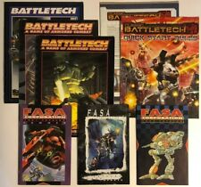 Battletech FASA Huge Lot of VG Catalogs and Manuals, 1991, 1992, 1998, etc