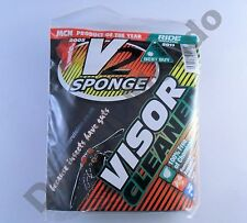 V2 sponge motorcycle visor helmet cleaning pack cleaner motorbike non scratch