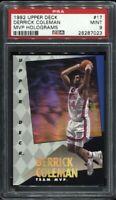 Derrick Coleman 1992 Upper Deck MVP Holograms # 17 PSA 9 Mint