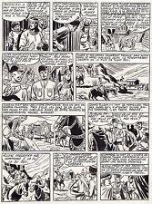 FULGOR (BILD) SUPERBE  PLANCHE ORIGINALE ARTIMA  ANNEES 1950 PAGE 7