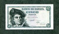 BILLETE 5 PESETAS 1948 SERIE F   SC   SIN CIRCULAR