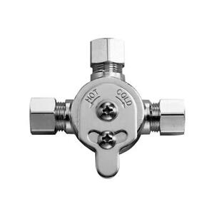 Sloan MIX-60-A Below Deck Mechanical Water Mixing Valve For Use - Chrome NEW
