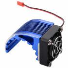 RC Aluminum Dark Blue Heat Sink 5V JST Plug For Phoenix 4274 4268 1515 Motor