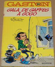GASTON LAGAFFE -R1- / Gala de gaffes à gogo / 1973 / TBE-