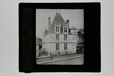 Amboise Hôtel de ville France Plaque de projection Lanterne magique ca 1900