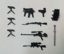 Weapons and Accessories(Guns + Sword) lot for your 3.75 inch action figure