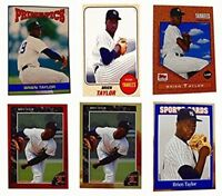 (6) Brien Taylor Odd-Ball Trading Card Lot