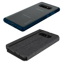 NEW 2-PACK Incipio Phone Cases for Samsung Galaxy Note 8 Clear Impact & Folio