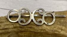 Beautiful Vintage Sterling Silver Barrette Clip For Hair :)
