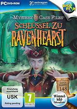Mystery case files: clé à Ravenhearst (Pc) + + neuf et neuf dans sa boîte + +