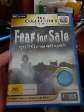 Fear For Sale - PC GAME - FREE POST