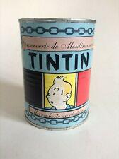 RARISSIME Boite de conserve Tintin