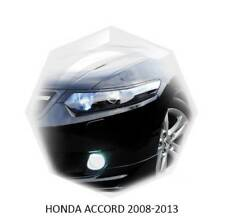 Acura TSX Honda Accord 08-2012 Eyebrows Eyelids Headlight Covers Unpainted 2 pcs