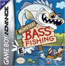 Monster Bass Fishing GBA New Game Boy Advance