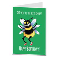 Happy Birthday Card For Dad Cute Quirky Perfect For Mum's 40th 50th 60th 70th