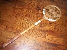 Vintage Slazenger Challenge Power Model Wood Squash Racquet