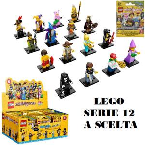 LEGO 71007 - LEGO MINIFIGURES - SERIE 12 COMPLETA - scegli il tuo personaggio