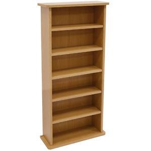 CHAK - CD / DVD Media Storage Cabinet - Beech MS0242