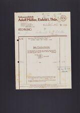 EISFELD, Rechnung 1946, Adolf Müller Seilerwaren-Fabrik