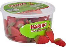 HARIBO Giant Strawberry Giant Strawbs Bulk 1kg Tub