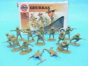 AIRFIX WWII GHURKAS / GURKHAS - 1/32 scale - 14 figures - Humbrol Box