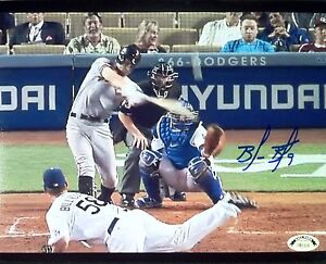 Brandon Belt signed 8x10 photo 1st homerun, SF Giants, World Series Champions