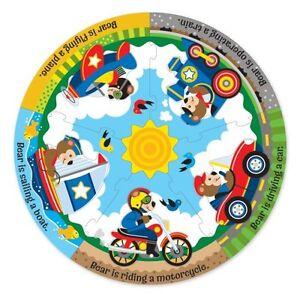 Vehicle Fun Fresh Start Circular Floor Puzzle  by Melissa $ Doug (NEW) 4405