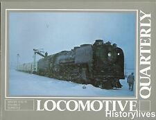 Locomotive Quarterly Winter 78 TH&B Soldier Summit Texas Mogul C&I Midland UP