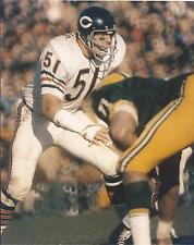 DICK BUTKUS NFL CHICAGO BEARS VS GREEN BAY UNSIGNED 8X10 PHOTO