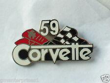1959 Corvette Pin , Chevrolet Pin , Lapel Pin, Hat Tack Pin,  *