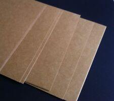 25 KRAFT Brown Card / Cardstock A4 Size Recycled 280GSM